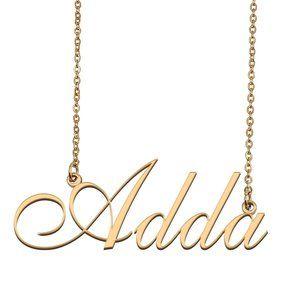 Custom Personalized Adda Name Necklace